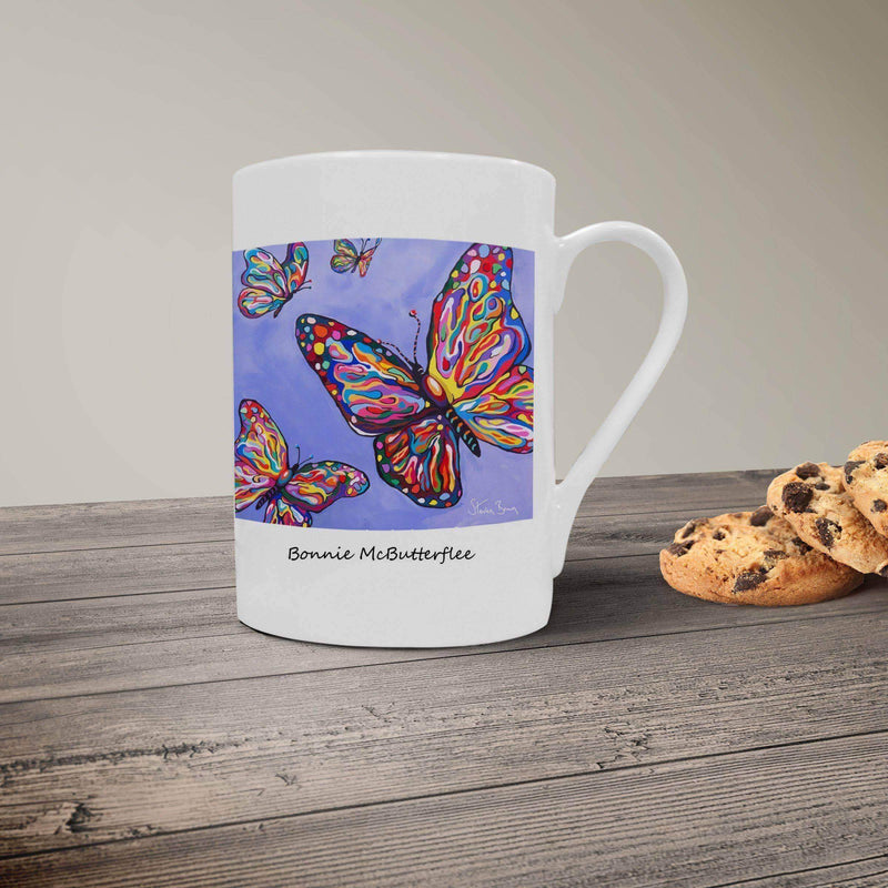 Bonnie McButterflee- Bone China Mug