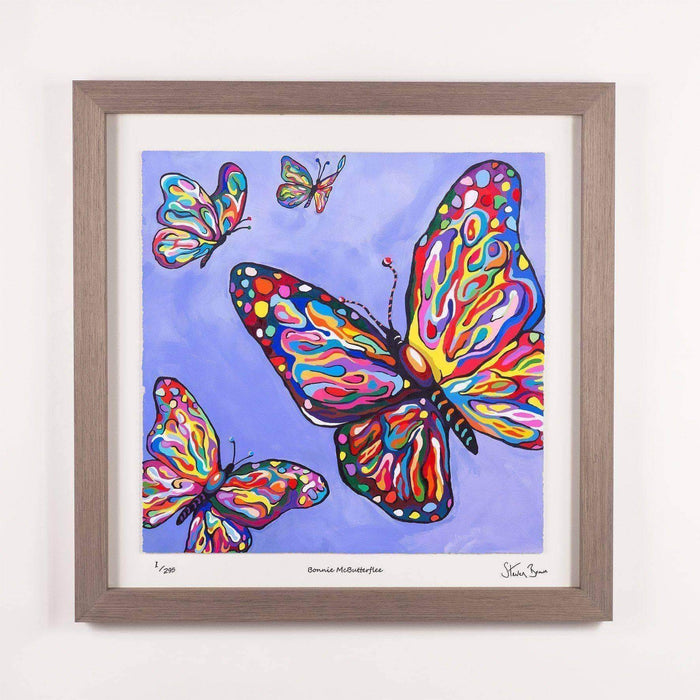 Bonnie McButterflee - Framed Limited Edition Floating Prints