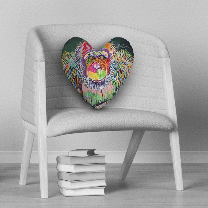 Boris McZoo - Heart Cushion