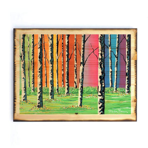 Caledonian Forest - Timber Print