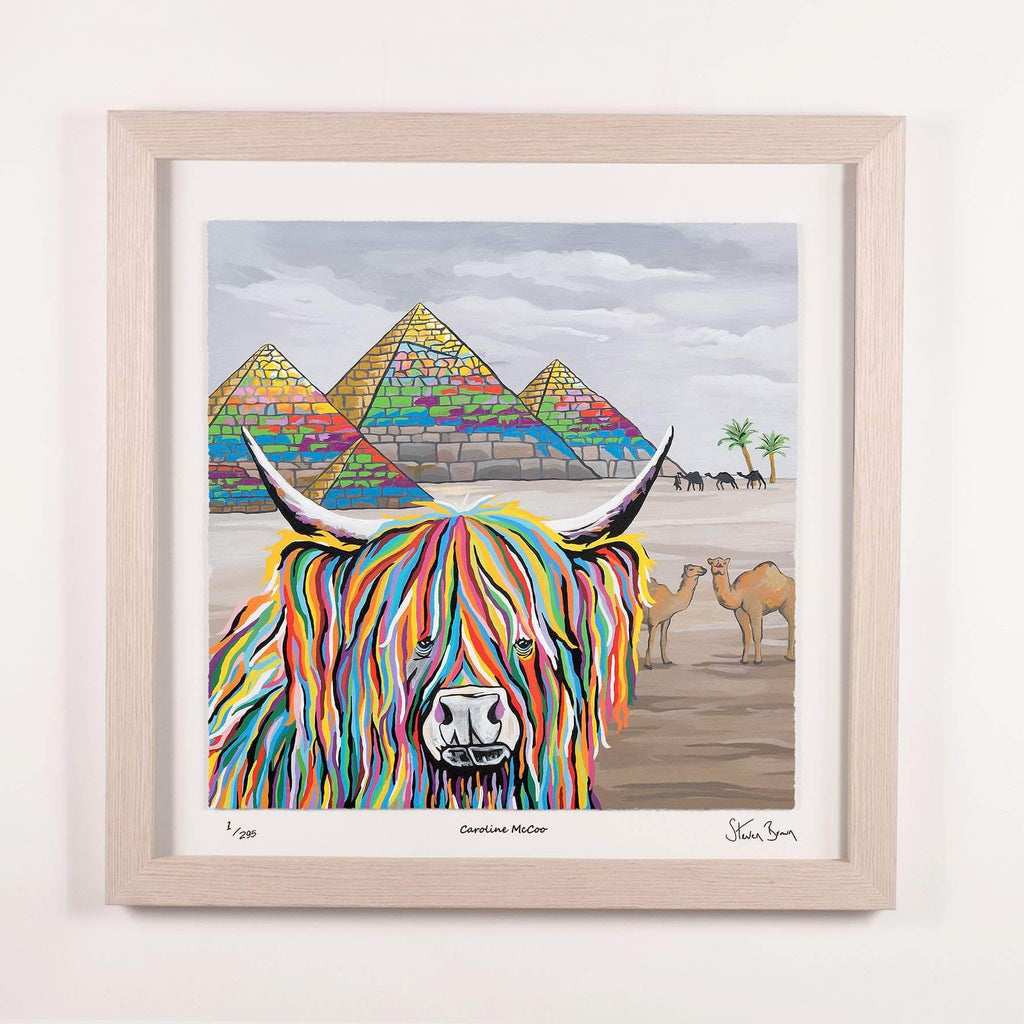 Caroline McCoo - Framed Limited Edition Floating Prints