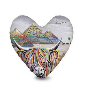 Caroline McCoo - Heart Cushion