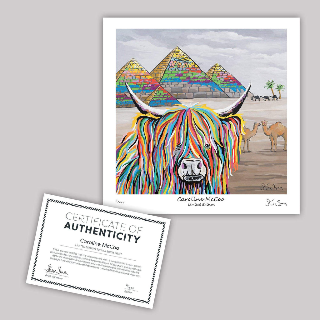 Caroline McCoo - Mini Limited Edition Print