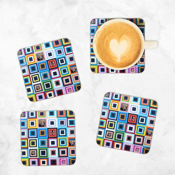 Celebrity McCoo - Set of 4 Coasters