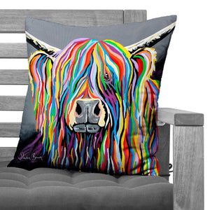 Charlie McCoo - Faux Suede Cushions