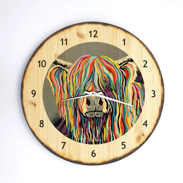 Charlie McCoo - Wooden Clock