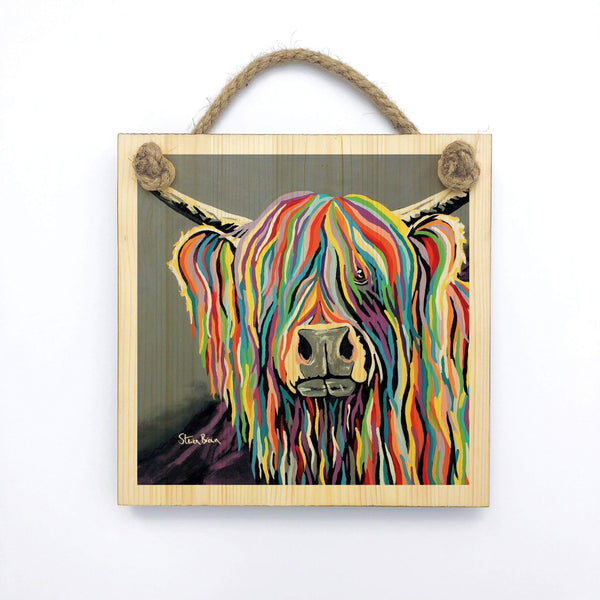 Charlie McCoo - Wooden Wall Plaque