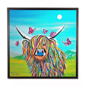 Chloe McCoo - Framed Limited Edition Aluminium Wall Art