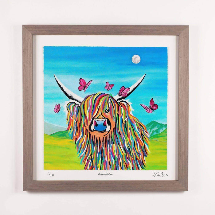 Chloe McCoo - Framed Limited Edition Floating Prints