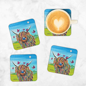 Chloe McCoo - Set of 4 Coasters