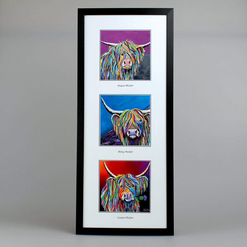 Classic Mccoos Collection Triptych Steven Brown Art