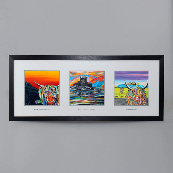 Coos With Castles Collection - Triptych