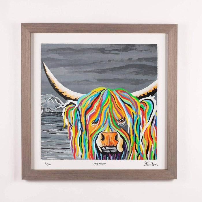 Craig McCoo - Framed Limited Edition Floating Prints