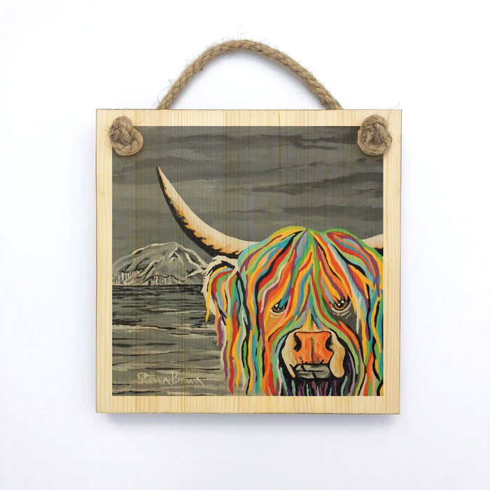 Craig McCoo - Wooden Wall Plaque