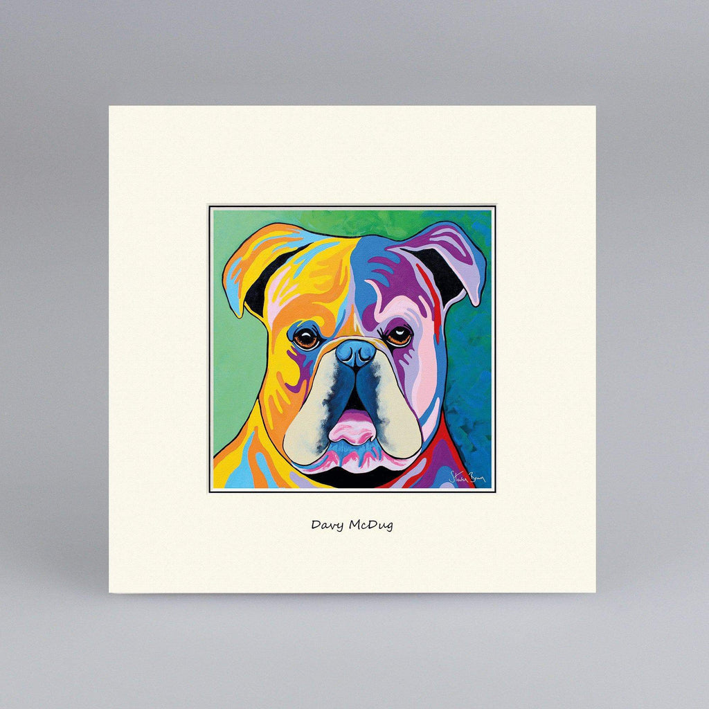 Davy McDug - Digital Mounted Print