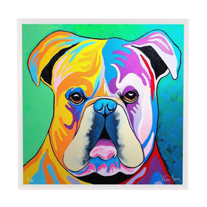 Davy McDug - Framed Limited Edition Aluminium Wall Art