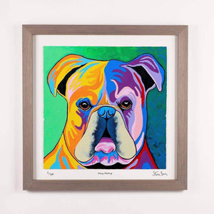 Davy McDug - Framed Limited Edition Floating Prints