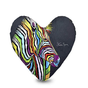 Debra McZoo - Heart Cushion