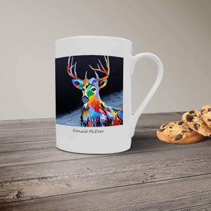 Donald McDeer - Bone China Mugs