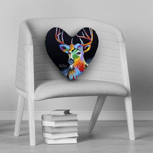 Donald Mcdeer - Heart Cushion