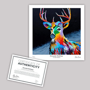 Donald McDeer - Mini Limited Edition Print
