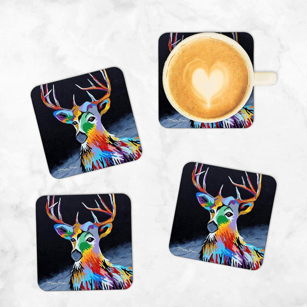 Donald McDeer - Set of 4 Coasters