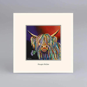 Dougie McCoo - Digital Mounted Print