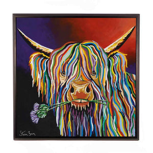 Dougie McCoo - Framed Limited Edition Aluminium Wall Art