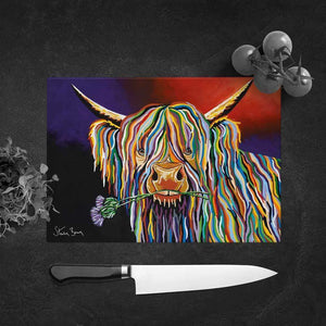 Dougie McCoo - Glass Chopping Board