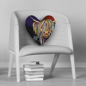 Dougie McCoo - Heart Cushion