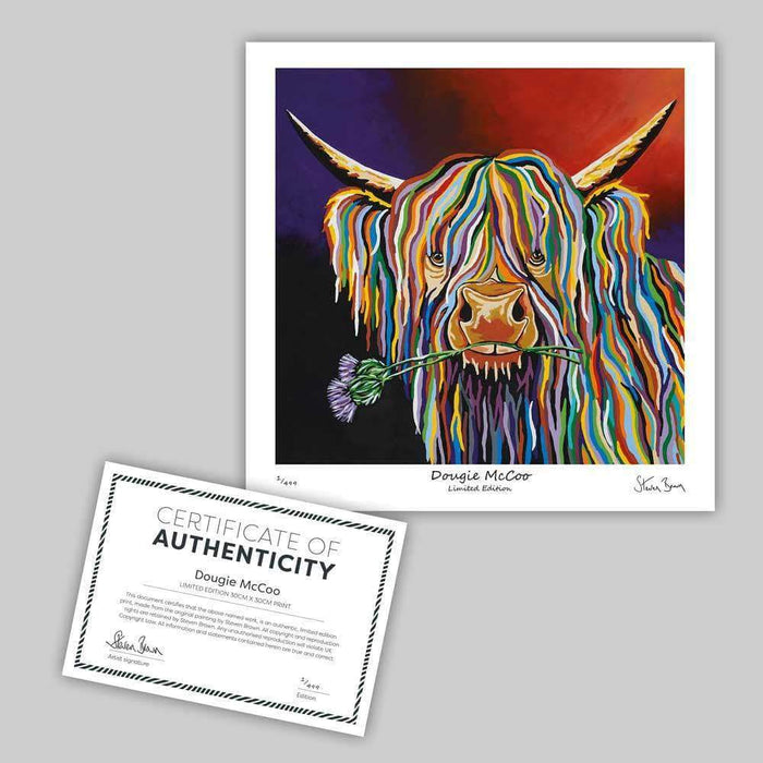 Dougie McCoo - Mini Limited Edition Print