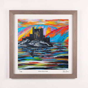 Eilean Donan Castle - Framed Limited Edition Floating Prints