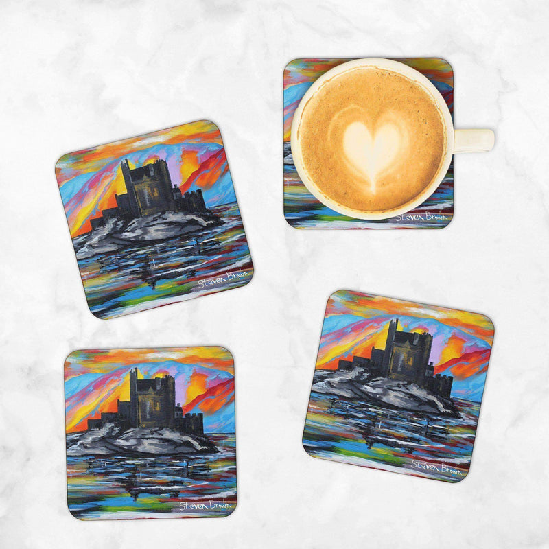 Eilean Donan Castle - Set of 4 Coasters