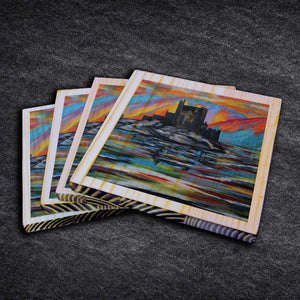 Eilean Donan Castle - Timber Coasters
