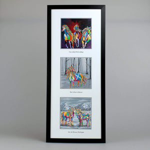 Equine Collection - Triptych