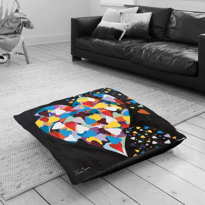 Heart Of Hearts - Floor Cushion