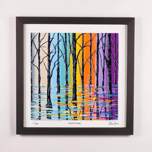 Forest Of Argyle - Framed Limited Edition Floating Prints