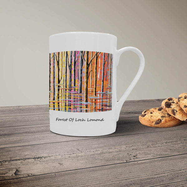 Forest Of Loch Lomond- Bone China Mug