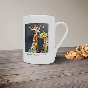 Francie & Josie McZoo- Bone China Mug