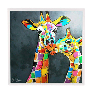 Francie & Josie McZoo - Framed Limited Edition Aluminium Wall Art