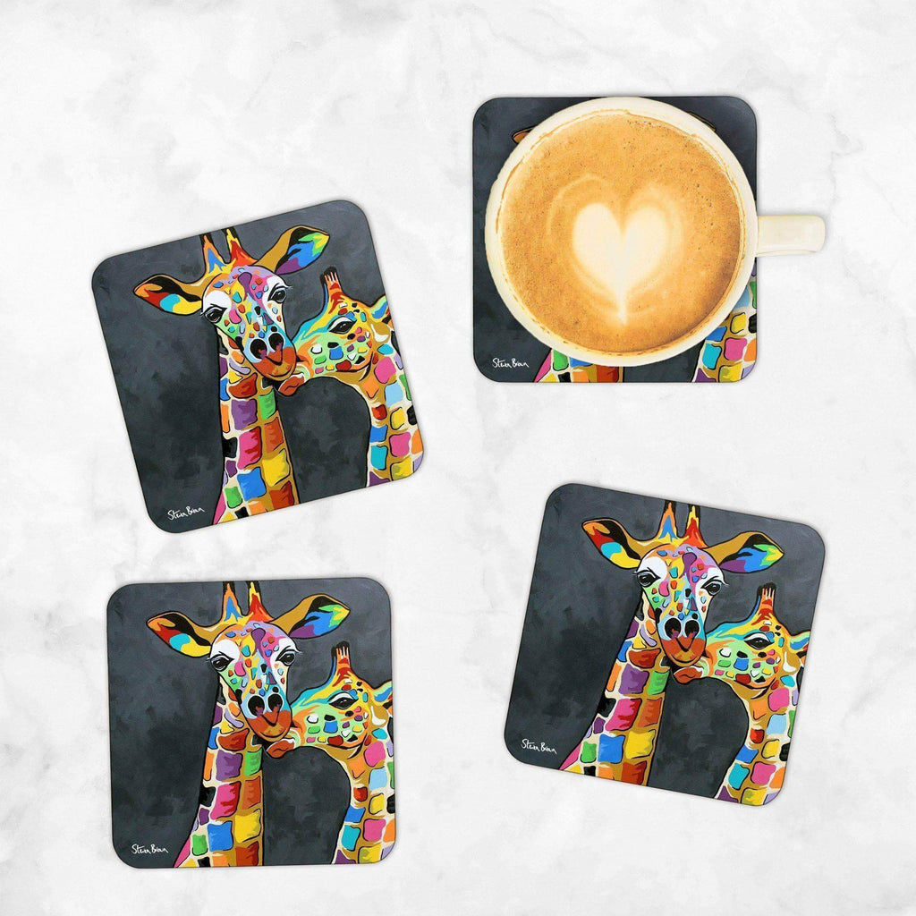 Francie & Josie McZoo - Set of 4 Coasters