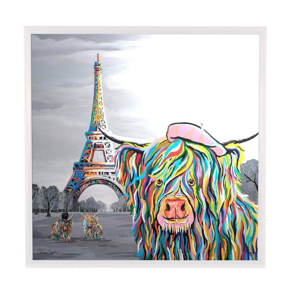 Frankie McCoo - Framed Limited Edition Aluminium Wall Art