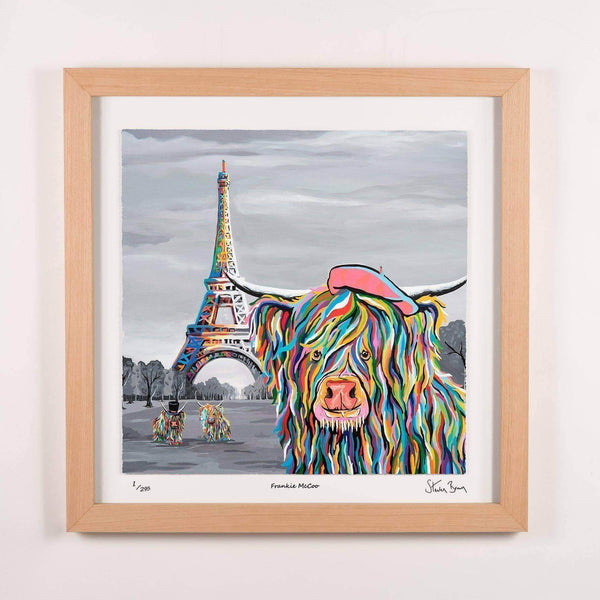 Frankie McCoo - Framed Limited Edition Floating Prints