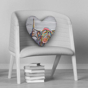 Frankie McCoo - Heart Cushion