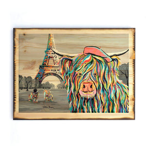 Frankie McCoo - Timber Print