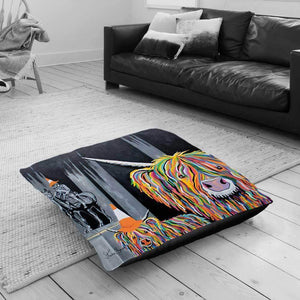 Geordie McCoo & The Wee Yin - Floor Cushion