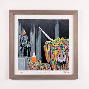 Geordie McCoo & The Wee Yin - Framed Limited Edition Floating Prints