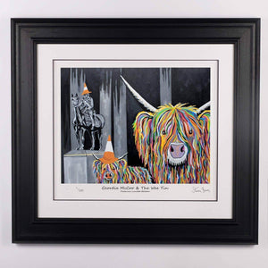 Geordie McCoo & The Wee Yin - Platinum Limited Edition Prints