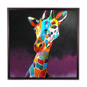 George McZoo - Framed Limited Edition Aluminium Wall Art