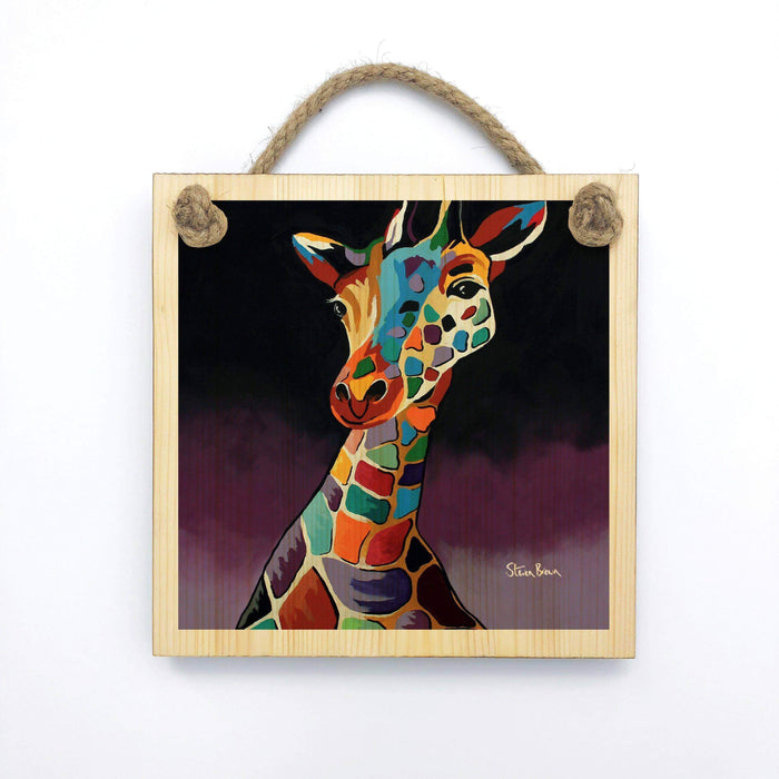 George McZoo - Wooden Wall Plaque